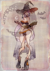 Halloween Witch by nkns0ksn