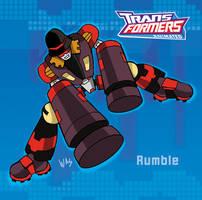 TF animated Rumble by ninjha