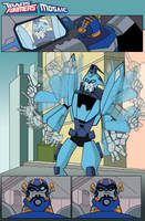Transformers Animated Blurr by ninjha