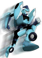 TF animated Blurr by ninjha