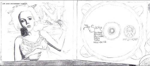 Majandra 'Sicks' Sketch - RS by snickerbaby
