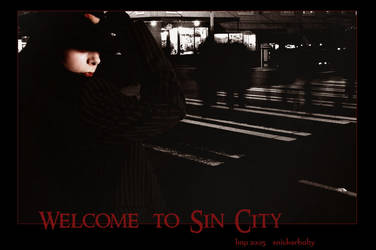 Welcome To Sin City by snickerbaby