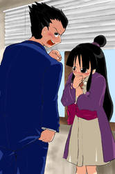 Phoenix Wright: after kissing by read-contents