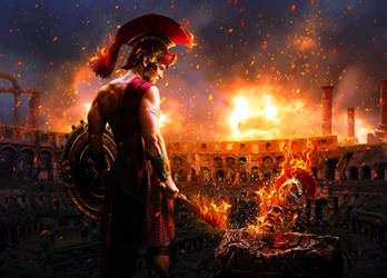 Burning Rome by Mr-Ripley