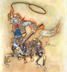 Little Western Centaur Cowboy by AYUVOGUE