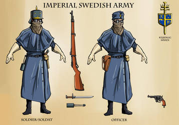 Imperial Swedish Uniforms by Levskicomic