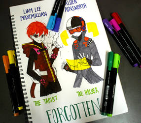 CONCEPT ART Revamp Lee and Alden by Ayza-chan