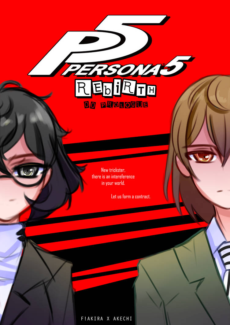 P5R: Prologue AVAILABLE by Ayza-chan