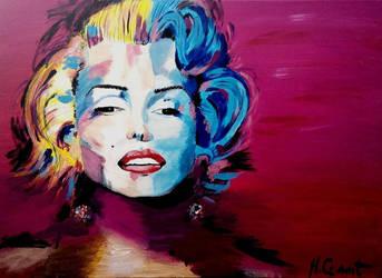 Marilyn Monroe by Mclaramunt