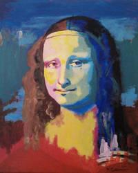 Mona Lisa by Mclaramunt
