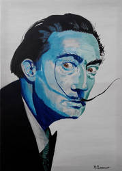Salvador Dali by Mclaramunt