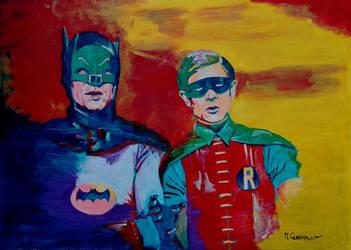 Batman and Robin (1966) by Mclaramunt