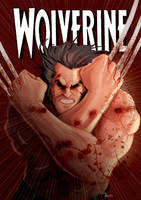 Fake Wolverine cover by ZacBrito