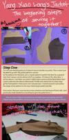 Yang Xiao Long Jacket Tutorial (Part 1?) by akahime-chan
