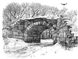 Suncook Stone Arch Bridge... Finished by UmaNHamU