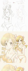 Mami Tomoe Process of operation by chindefu