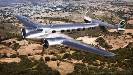 L-10E Electra by Oxygino