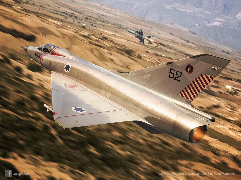 Mirage III CJ by Oxygino