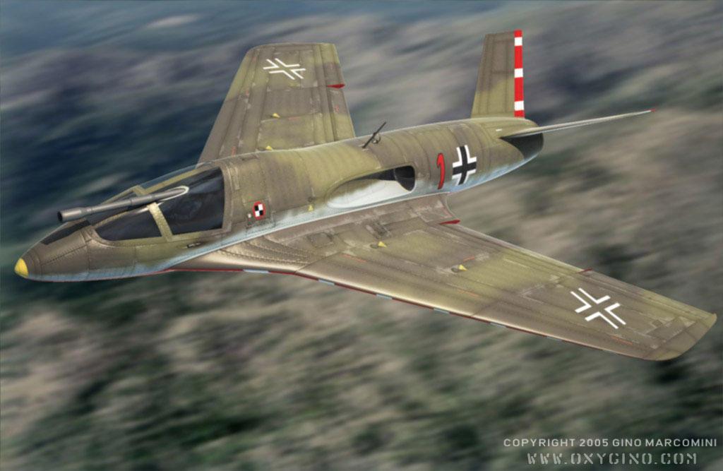 Messerschmitt Me-P.1112 by Oxy...