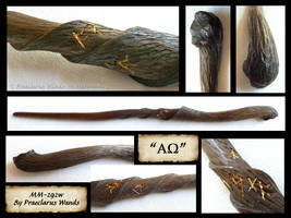 Alpha-Omega - Wand Details by PraeclarusWands