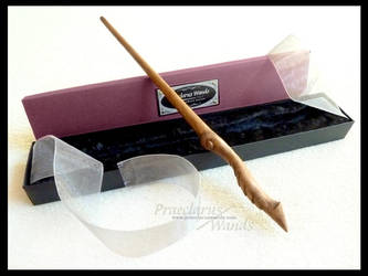 Handmade Wand - Carin's Dragon by PraeclarusWands