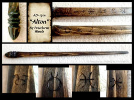 Alton - Wand Details by PraeclarusWands