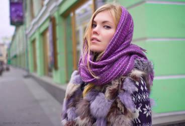 sensuality in the city by DenisGoncharov