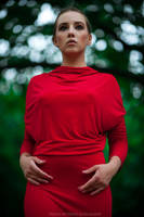 lady in red by DenisGoncharov