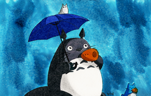 Tonari no Totoro by Cyrkael