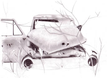 Old Ford WIP by Botticitar
