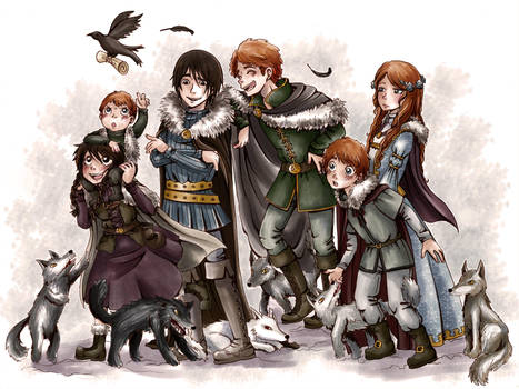Stark Children by MiiBT
