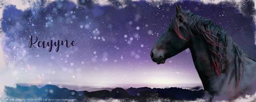 Rayyne Header by HorseOfBlackestNight