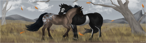Fall On Its Way by HorseOfBlackestNight