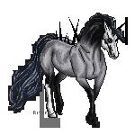Little Pixel Horse by HorseOfBlackestNight