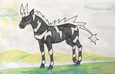 Zebstrika by HorseOfBlackestNight