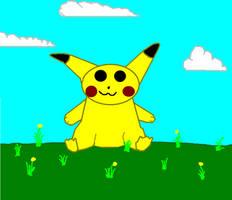 Pikachu by Ash243x