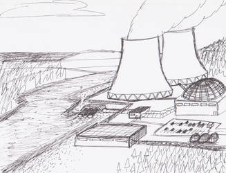 Power Plant Quick Sketch by Ash243x