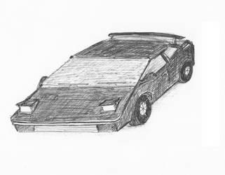 80s Sports Car by Ash243x