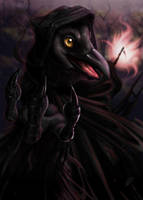 The Reaping Raven by burdfish