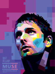 MATT BELLAMY 2 WPAP BY TONI A. by toniagustian