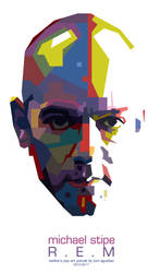 MICHAEL STIPE - WPAP BY TONI by toniagustian