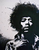 Jimi Hendrix by remsND