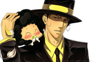 KHR - Reborn and Lambo by Kagoya-chan