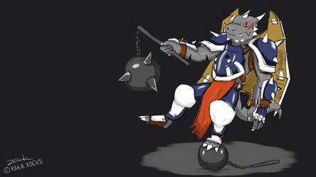 Raka's Cosplay - Tiros from Shining Souls 2 by Eternal-Lynx