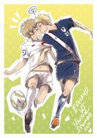 England+USA World Cup 2010 by AlexiusSana
