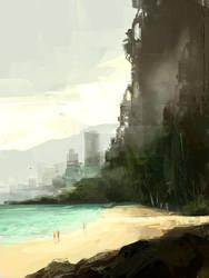 Beach by R-A-I-N-A-R-T