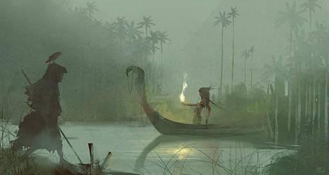 Green Swamp by R-A-I-N-A-R-T