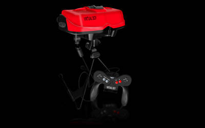 VirtualBoy Rendering by Ayce78