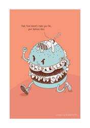 Burger by BIGMOUTH-design