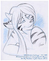 100 Sketch Challenge :: 97 by cybre
